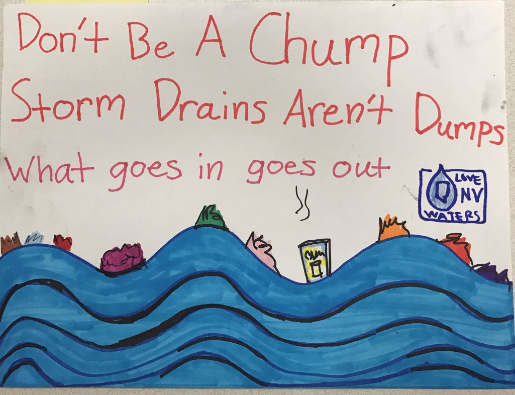 Love NV Waters Drawing Contest | Nevada Department of Transportation
