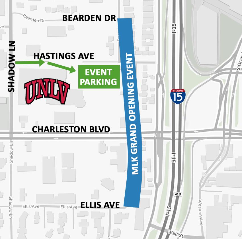 Martin Luther King Boulevard Fun Walk Saturday Morning In - Las vegas walking map