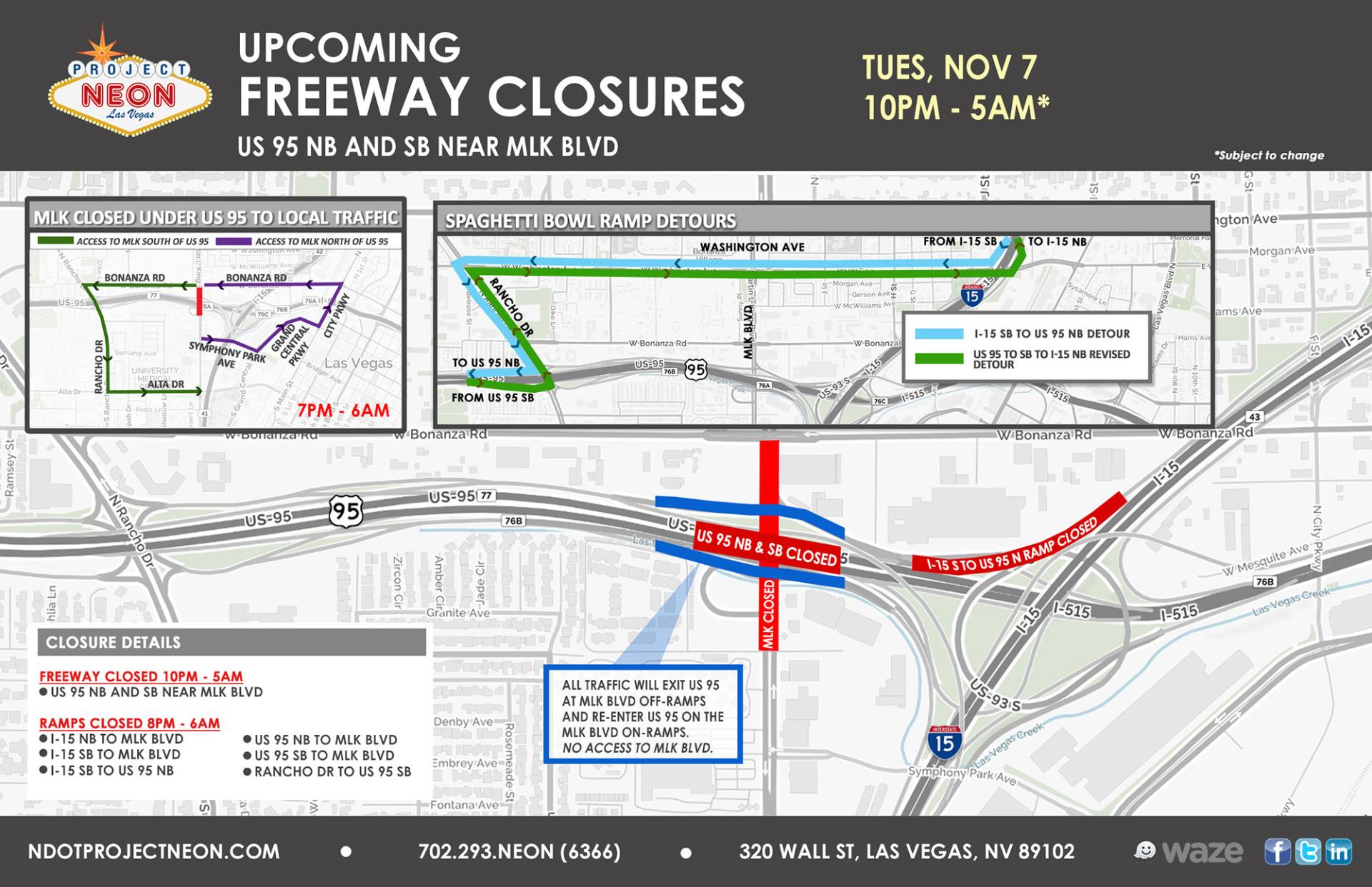US 95 Full Freeway Closures_11.7.17