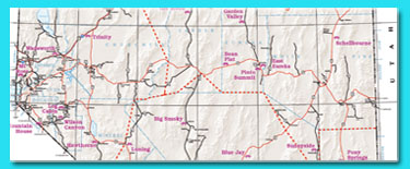 State Maps Nevada Department Of Transportation - Nevada state map