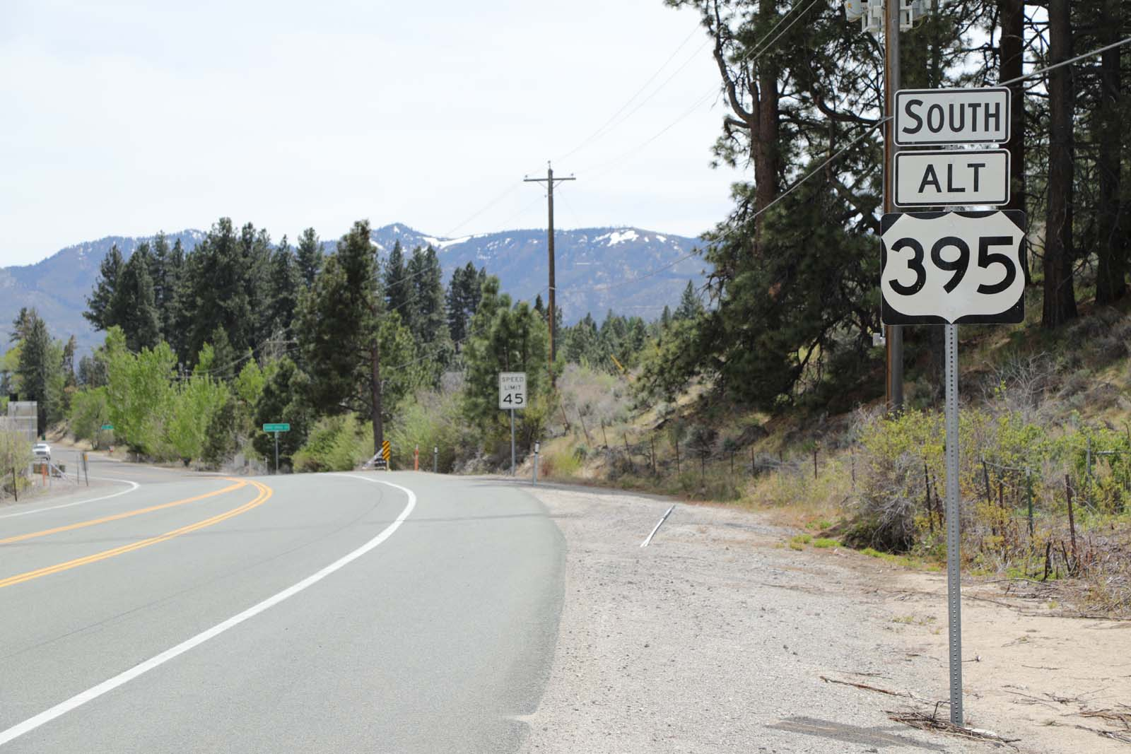 Single lane closures will begin May 16 on sections of Alternate/Old U.S. 395 in Pleasant and Washoe valleys for roadway resurfacing.