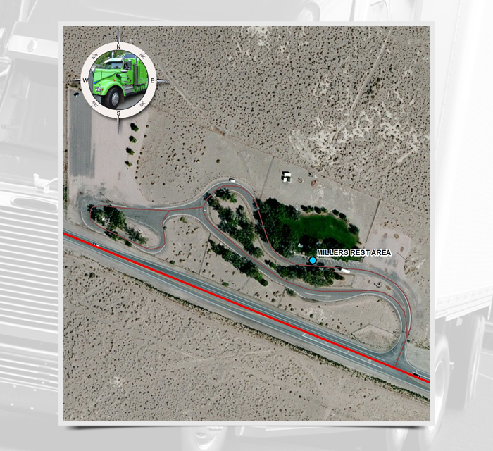MP 46: Millers Rest Area | Nevada Department of Transportation