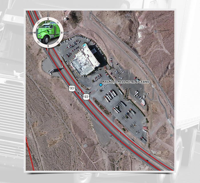 MP Railroad Pass Hotel Casino Nevada Department Of - Casinos in the us map