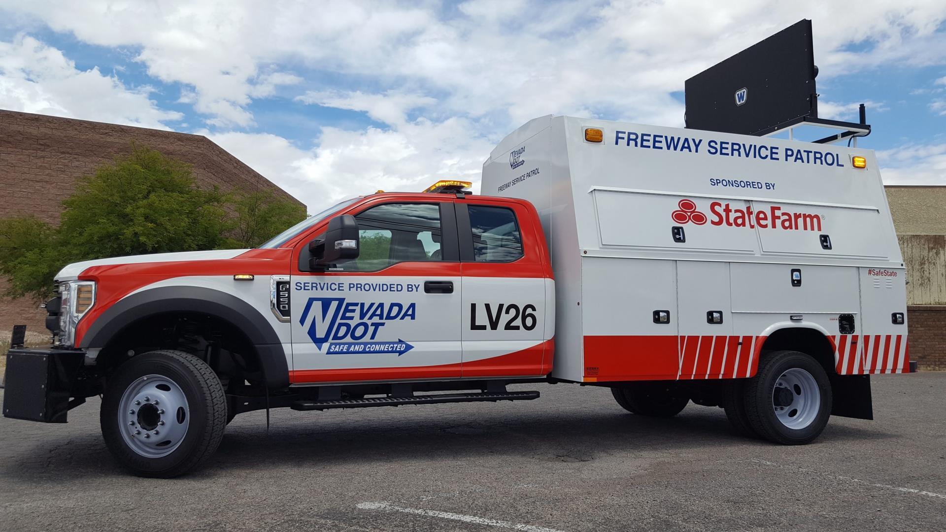 Roadside Assistance State Farm >> Freeway Service Patrol | Nevada Department of Transportation