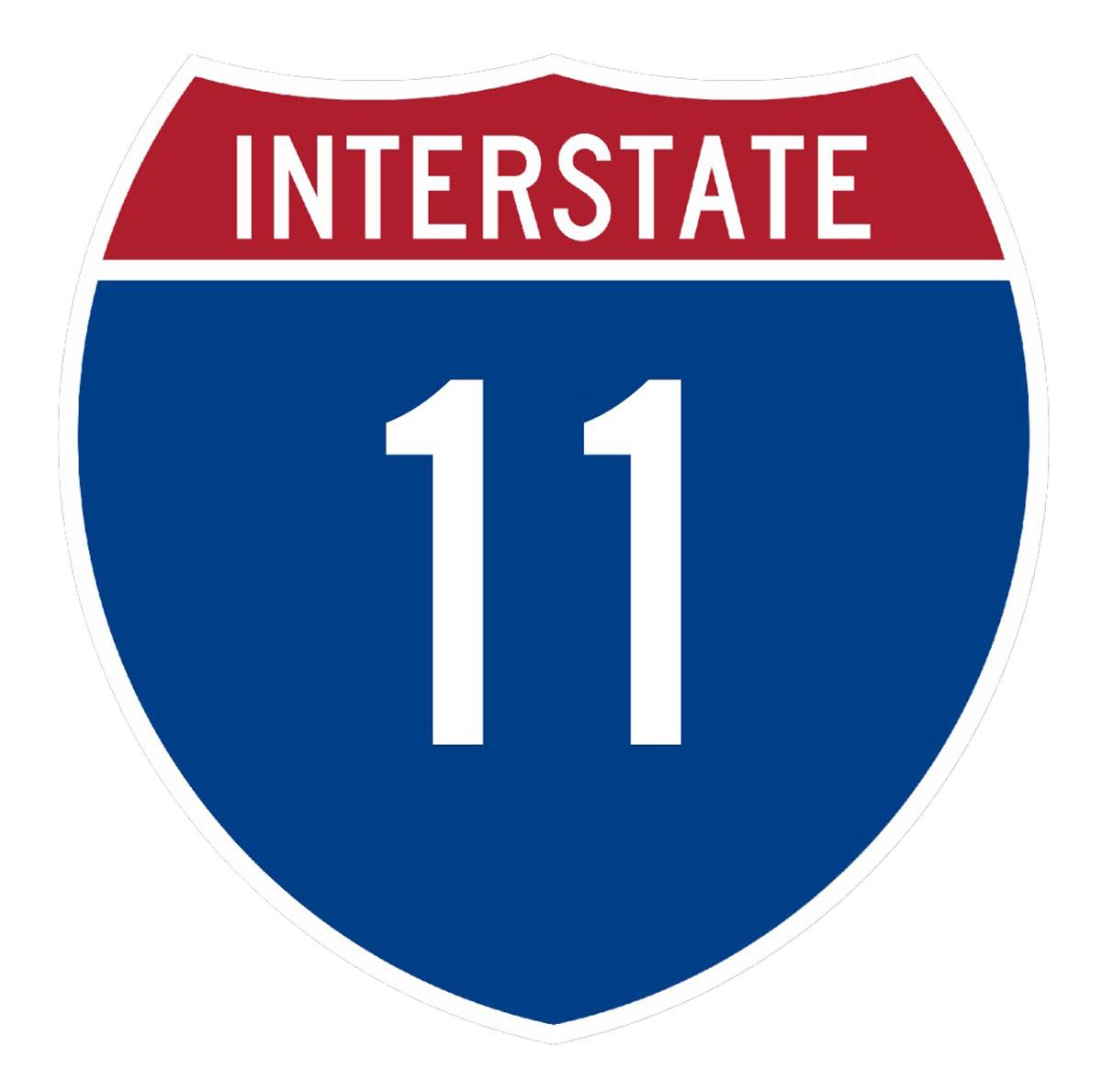Interstate 11 Nevada Department Of Transportation - Us-highway-map-symbols