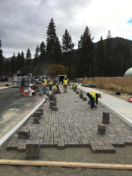SR 28 Epic Pavers Installation
