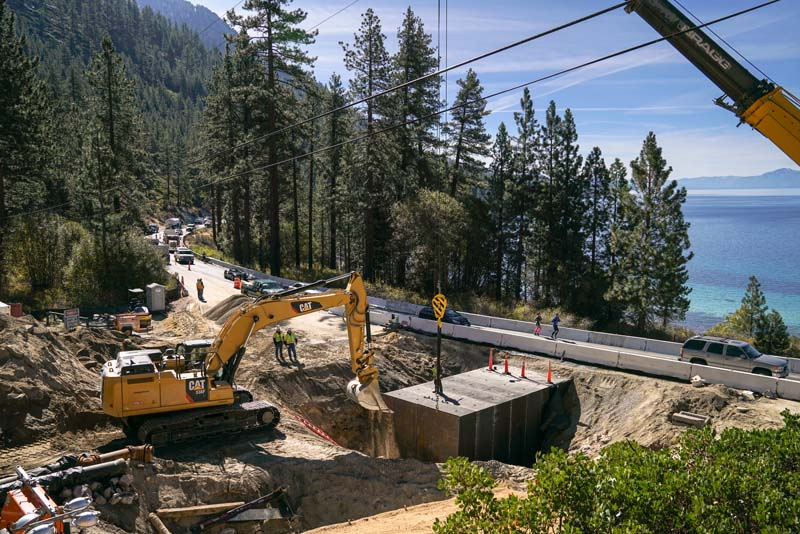 SR 28 Tunnel Installation