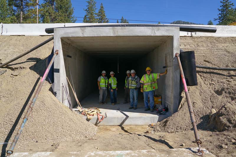 SR 28 Workers in Tunnel