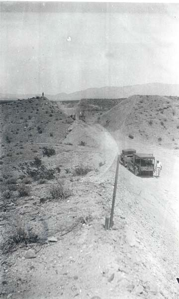 1932 Road from Riverside, CA to Mesquite, NV
