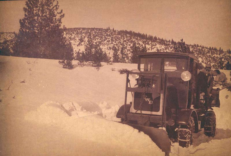 1920's Snow Removal