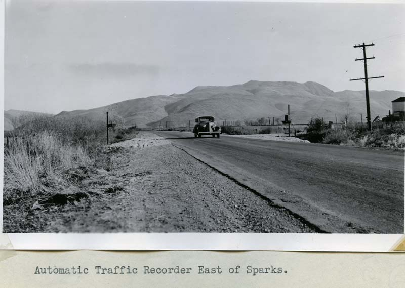 1936 Automatic Traffic Recorder East of Sparks