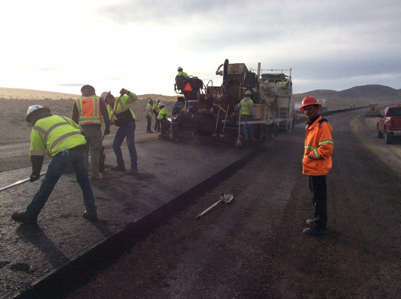 The USA Parkway Project began in 2016 and will connect I-80 and U.S. 50 in Storey and Lyon counties.