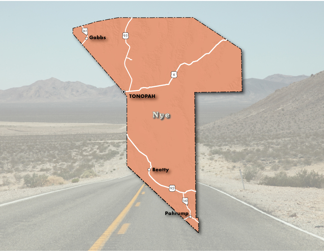 Nye County | Nevada Department of Transportation