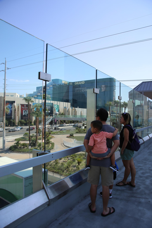 Tropicana Las Vegas Boulevard Pedestrian Bridges Nevada