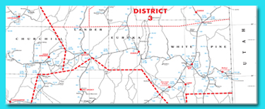 District and Milepost Map