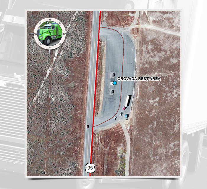 MP 41: Orovada Rest Area | Nevada Department of Transportation