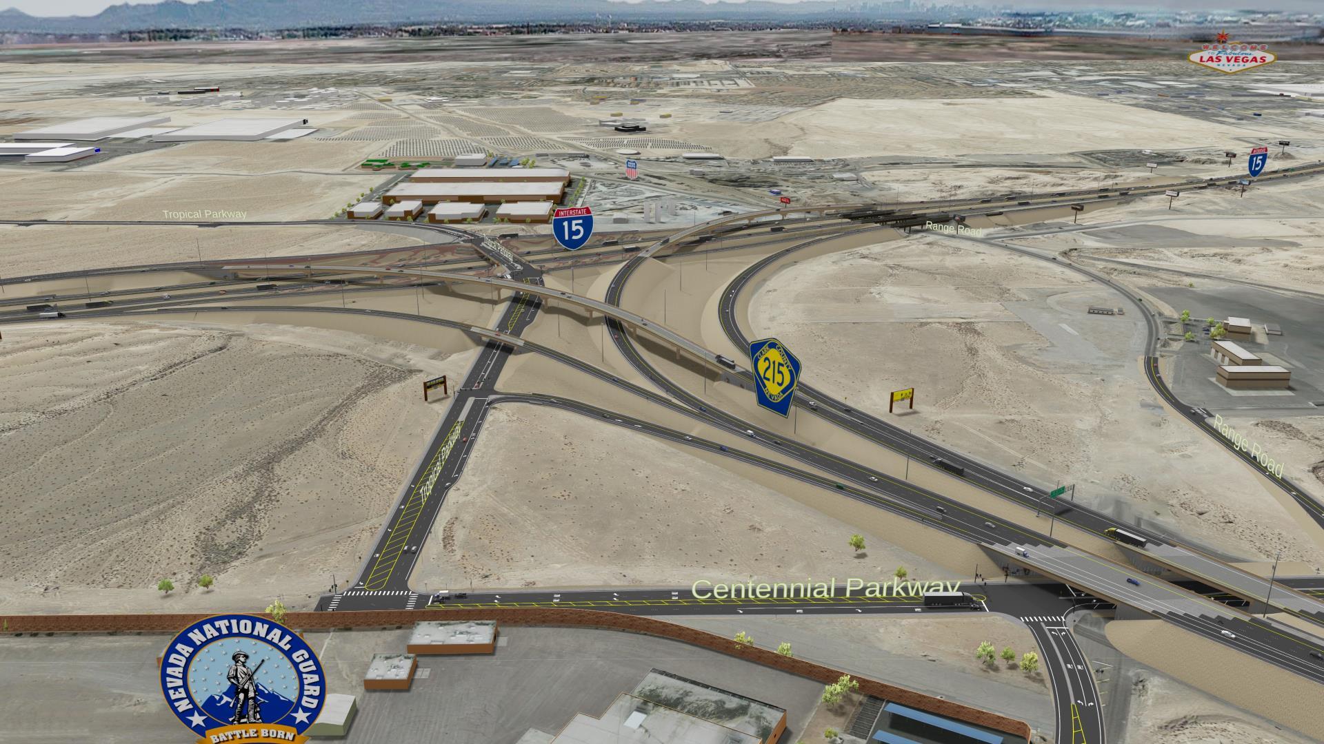 las vegas 15 freeway construction