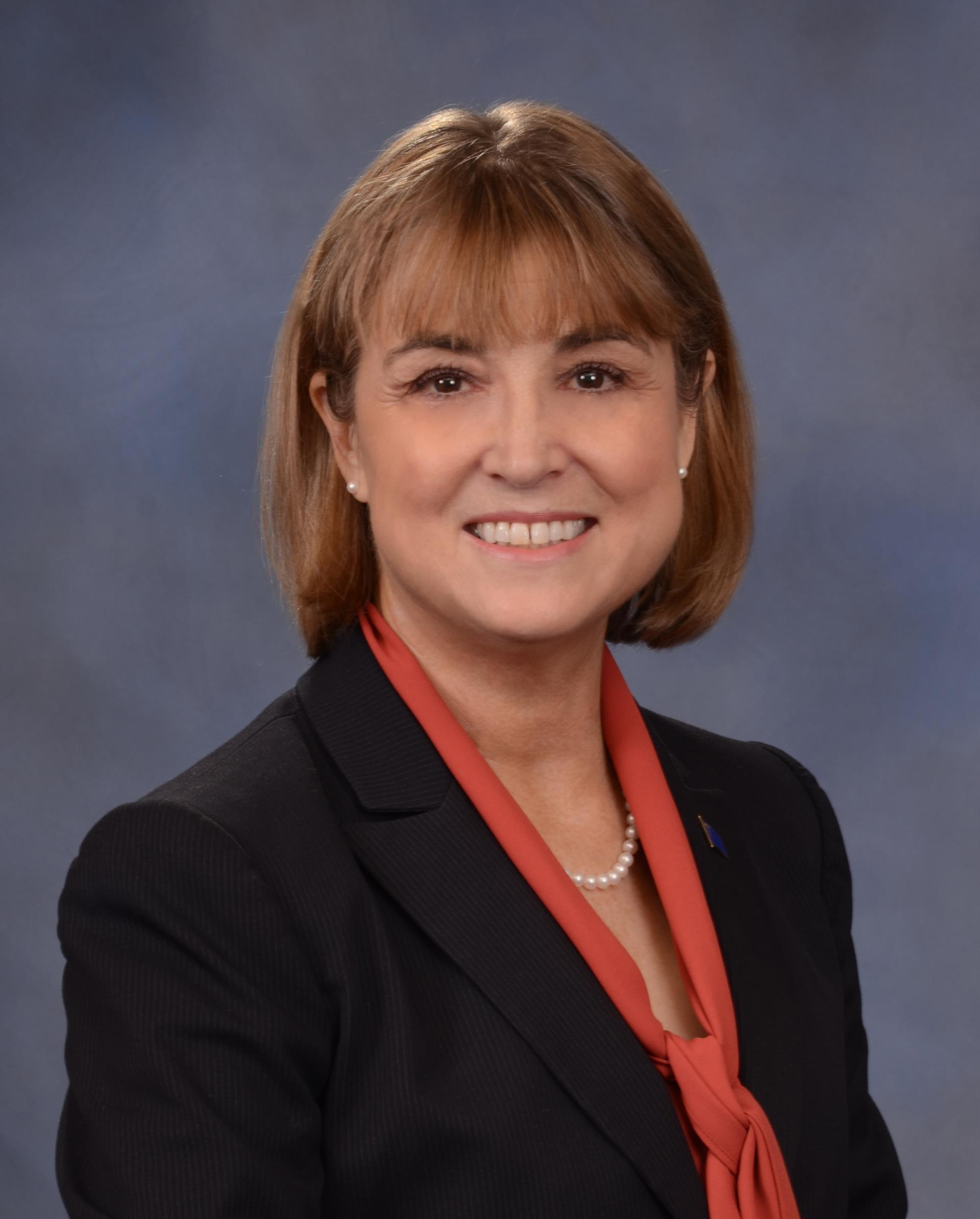 A portrait of Nevada Lieutenant Governor Kate Marshall