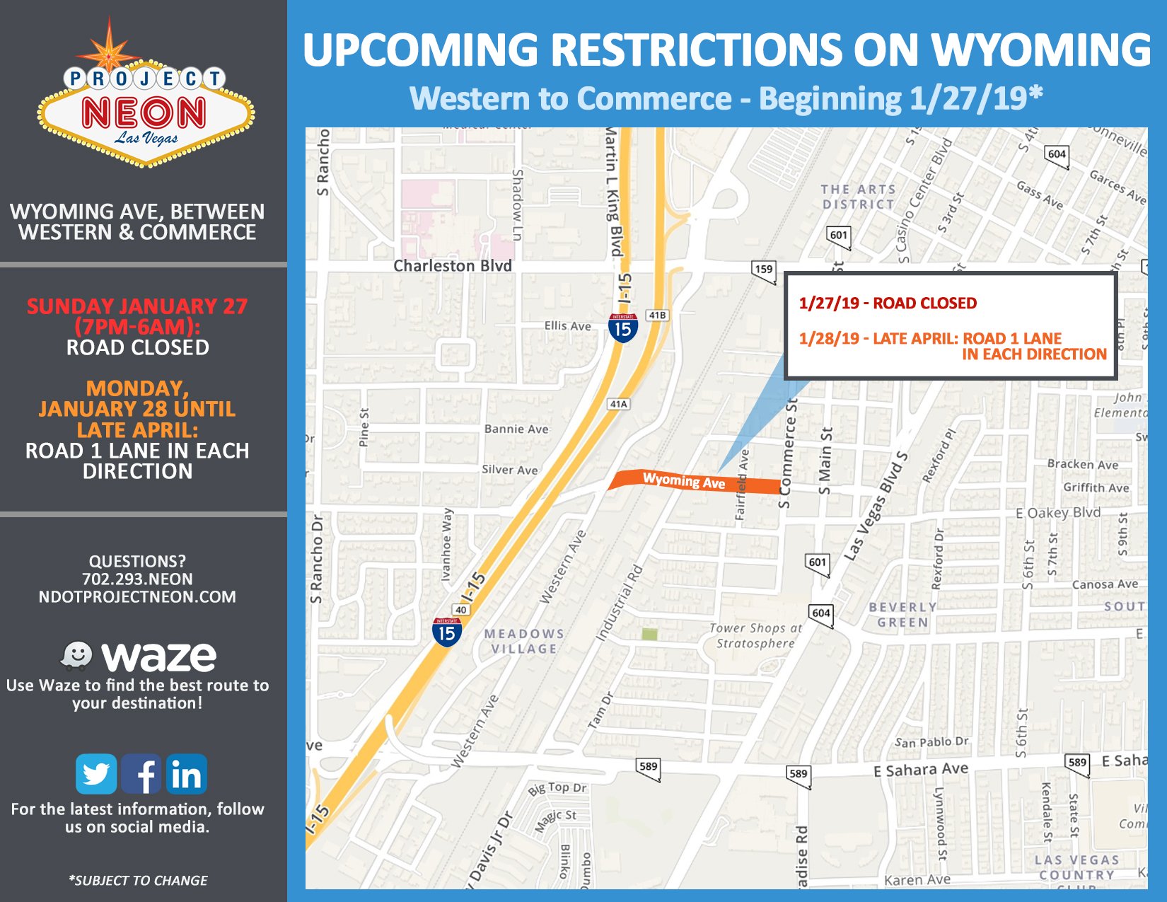 Wyoming Closure & Lane Restrictions_1.27.19