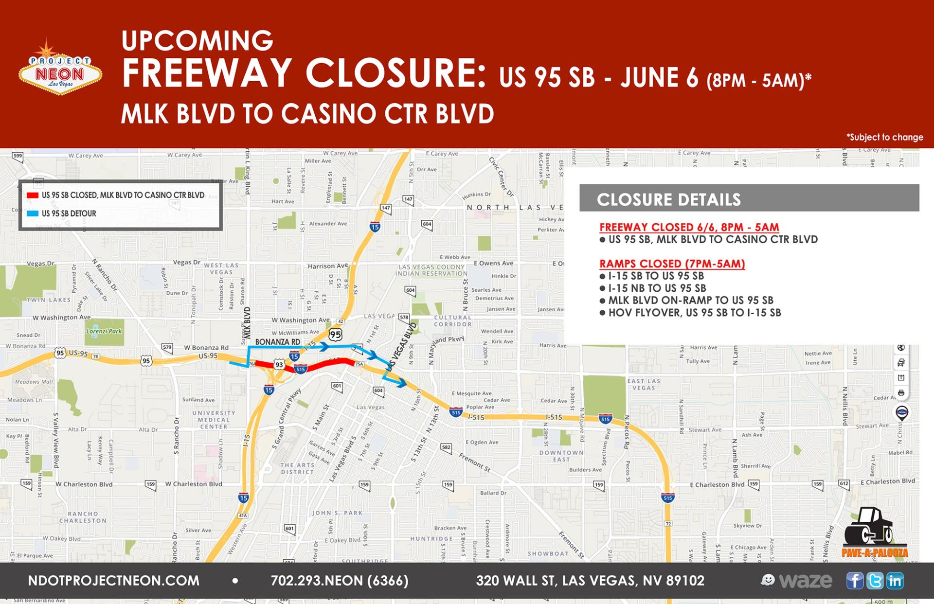 US 95 SB FULL CLOSURE_June 6_Updated