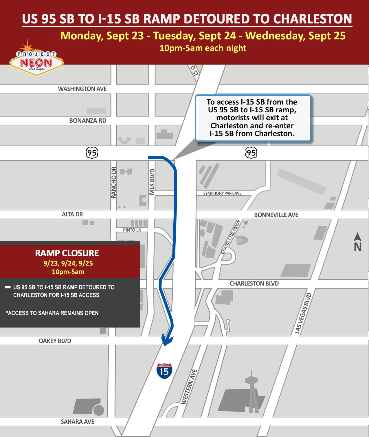 US 95 SB to I-15 SB Ramp Closure_9.23