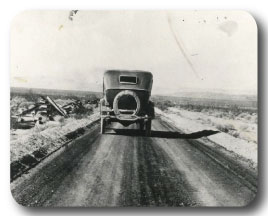 Early Oil Road