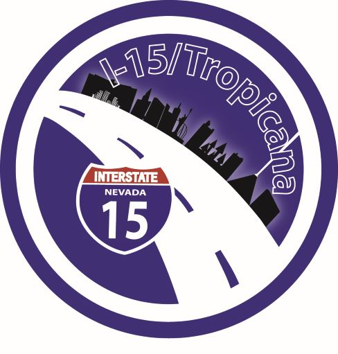Logo for I-15 Tropicana project