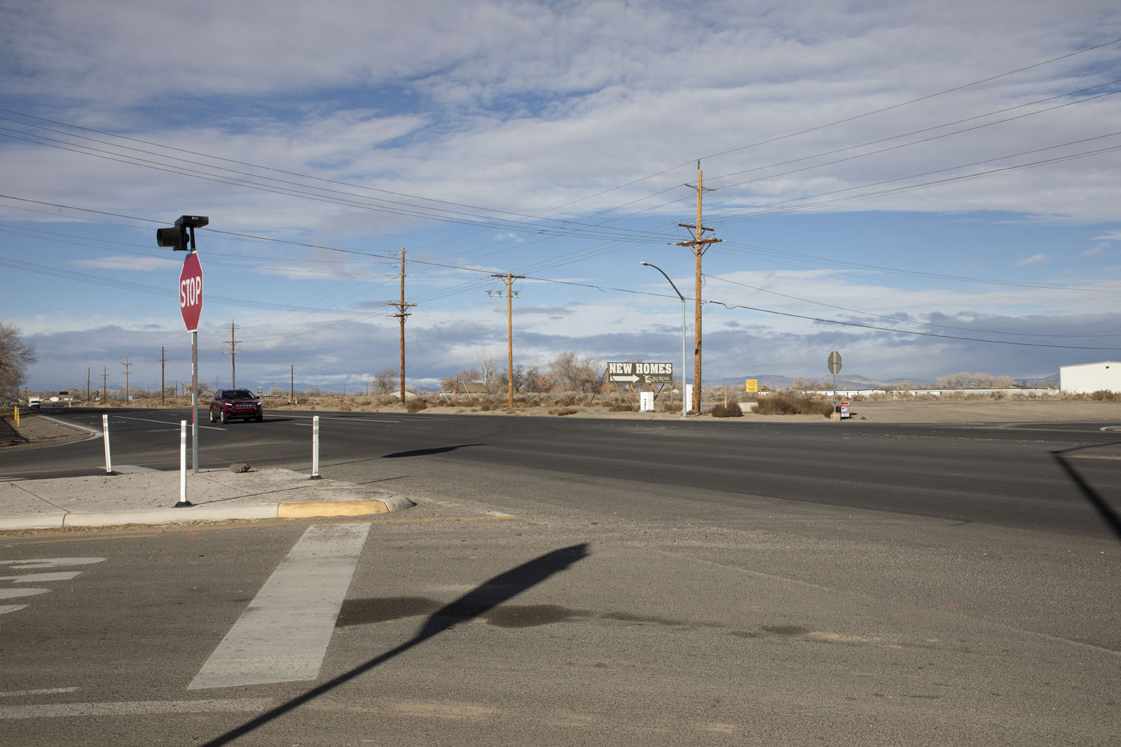 U.S. 50 and Sheckler Intersection in Fallon, NV