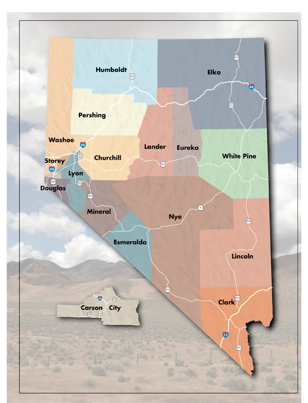 City Area Maps | Nevada Department of Transportation Alamo Nevada Map on