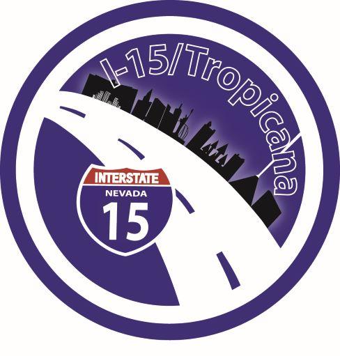 Logo for I-15 Tropicana project